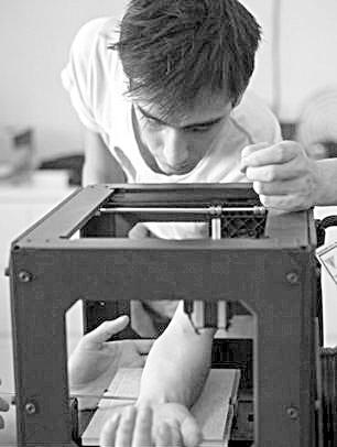 3d打印机改造成了纹身机器人