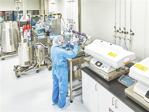 国内首个CMO试点生产基地启用