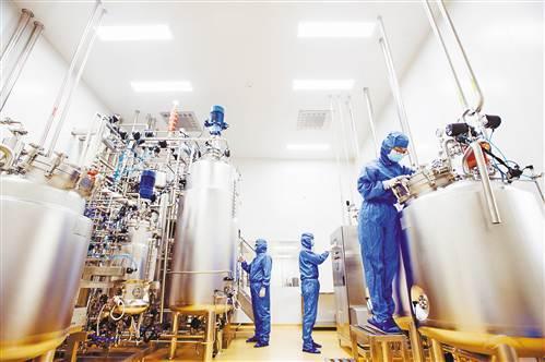 巴南区打造高端医药产业园