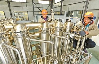 自主创新蒸馏水机填补国内空白