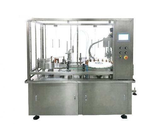 液体灌装旋盖生产线技术领先