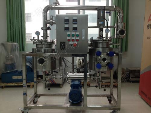 多功能实验型提取浓缩机组技术