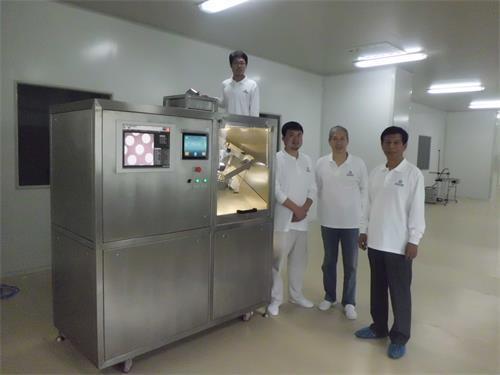 JGD-40高速渗透泵激光打孔机通过测试进入批量生产阶段