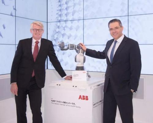 ABB最新款单臂协作机器人面世!