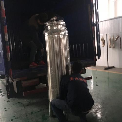 南京天水1吨/时纯化水设备发往江西