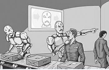 制造业机器人将取代工人?