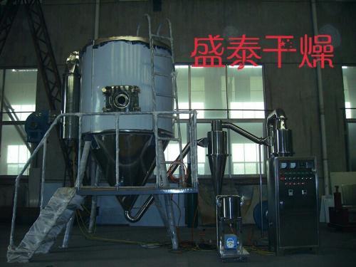 高速离心喷雾干燥机的结束与清洗