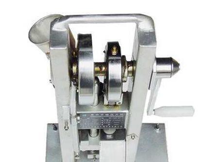 怎样调节手摇单冲压片机?
