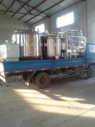 纯化水设备发货山东客户!