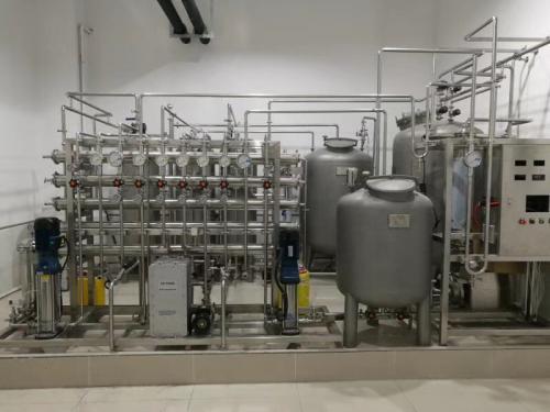江苏客户1吨体外诊断试剂用纯水设备安装完成!