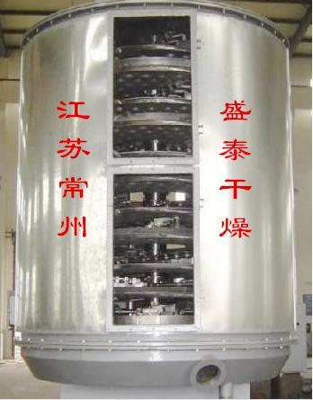 盛泰公司客戶方硫酸鹽專用盤式干燥機制作即將完工