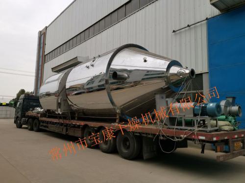 江西省某生物工程公司订购的LPG-150型喷雾干燥机发货