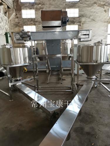寶康干燥高速混合機生產線發往青島某公司
