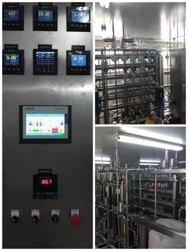 南京天水机械--山西客户,设备安装调试验收合格
