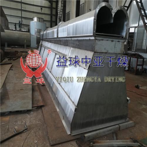 益球中亚干燥——客户订购的4台绞龙输送机正在生产制作中
