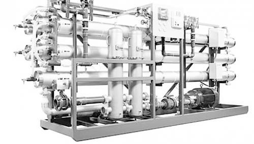 纯化水系统反渗透膜怎么拆卸?