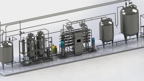 医用纯化水设备膜被污染了怎么办?