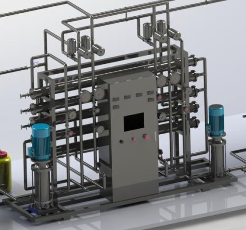 怎么做好医用纯化水设备反渗透系统的使用和维护?