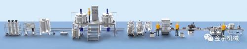 抗击疫情!金宗企业改造原有生产线 全力助产消毒液洗手液生产线设备