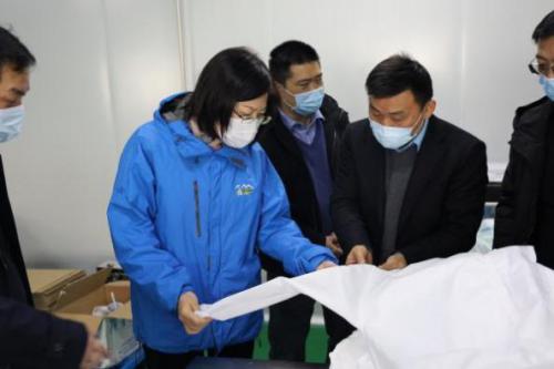 3天建28條抗疫物資生產線 九江高科制藥為逆行者護航