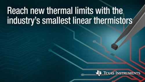 德州儀器推出新型溫度傳感器 提供高精度的熱測量