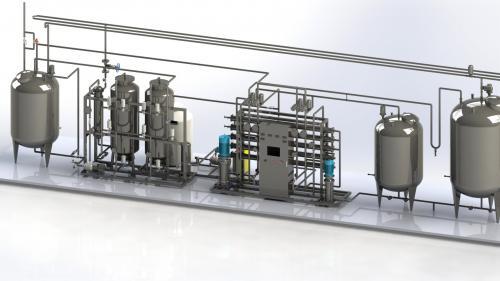 怎样高效控制医用纯化水设备污染?