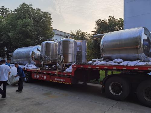 天水机械--6T纯化水设备正在上货,发往浙江客户!!