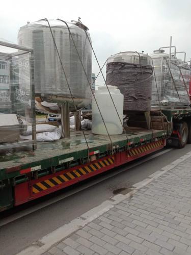 4T纯化水设备正在上货,发往重庆!!