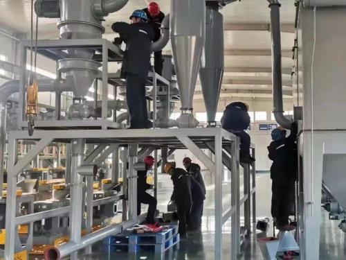 浙江豐利石墨球形化成套設備持續熱銷