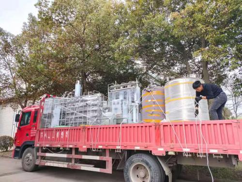 纯化水设备,多效蒸馏水机发往南京客户!!