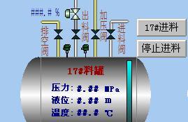 反应釜生产控制流程