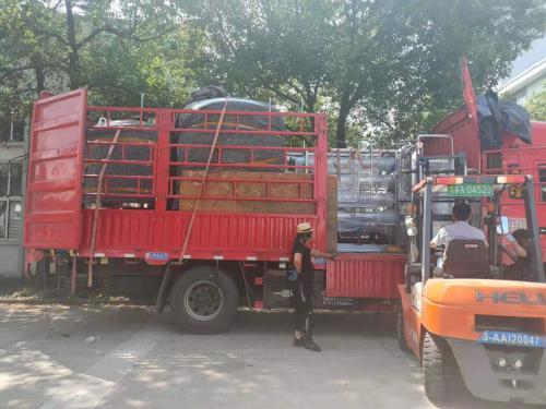 南京天水6t/h純水設備發往西安