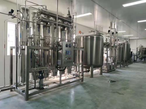 江西客户,6t纯化水系统,1t注射水系统,500L纯蒸汽,安装调试顺利完成!