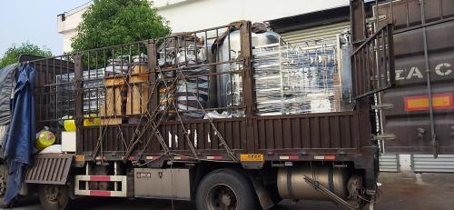 南京天水1t/h純化水設備發往深圳客戶