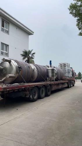 南京天水15T二级RO+EDI发往天津客户