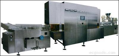 QXGF5/25型高速口服液洗烘灌封联动生产线机组