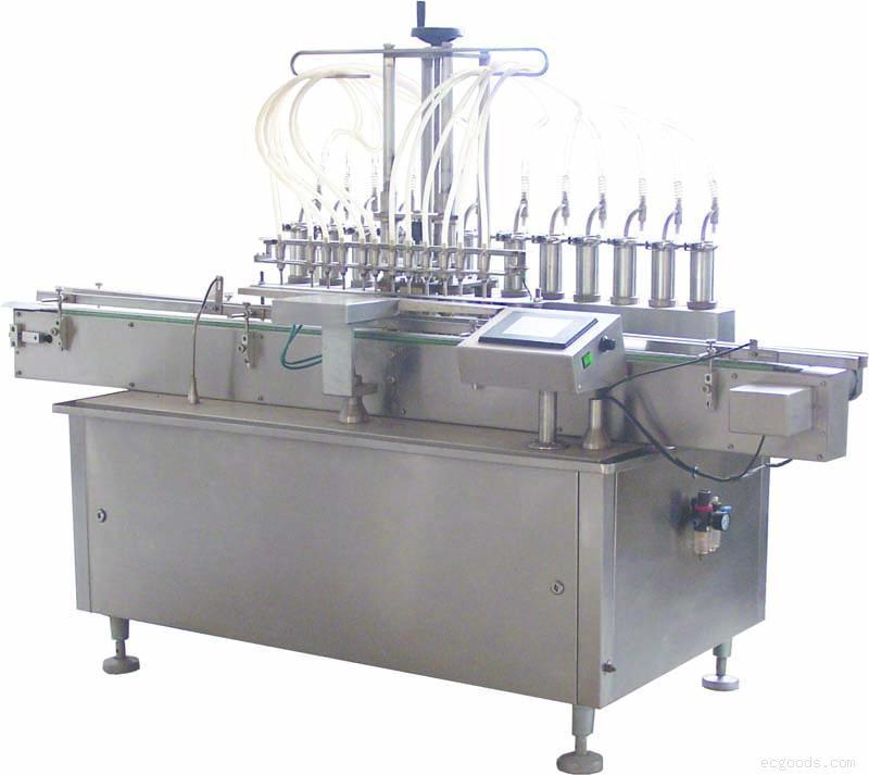 全自动柱塞泵自动液体灌装机