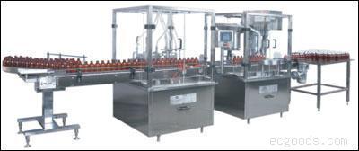 HGXT200型糖浆(液体)灌装联动生产线机组