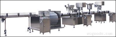 BSY100/500C型大输液联动生产线机组