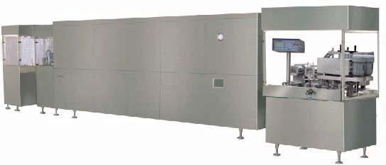 5-100ml型口服液洗、烘、灌、轧全自动生产联动线