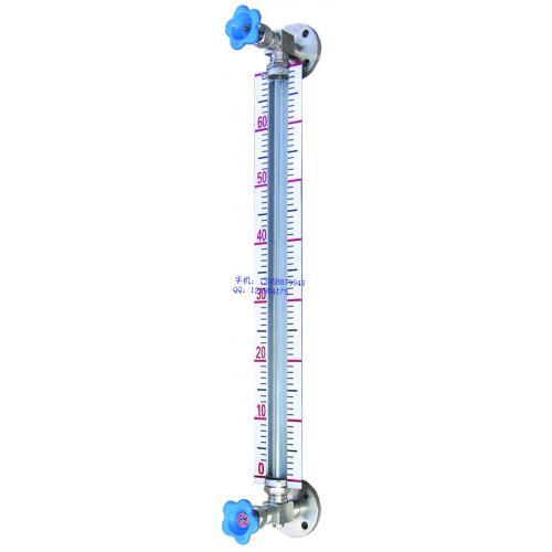 不銹鋼法蘭液位計,帶刻度液位計