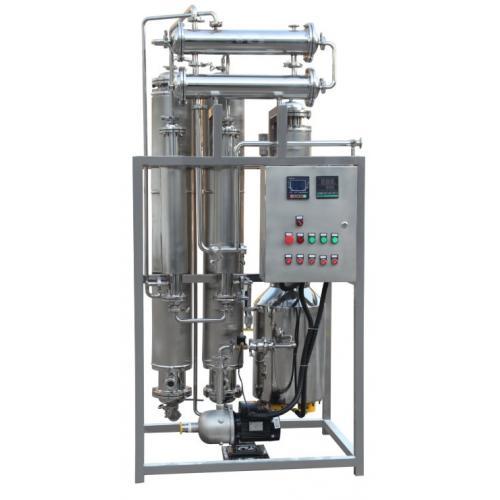 电加热蒸馏水机