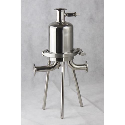 除微粒除菌过滤卫生级过滤器   饮料二氧化碳落地式除菌过滤器