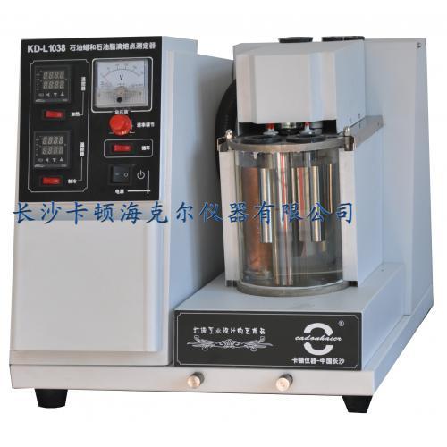 石油蜡和石油脂滴熔点测定器