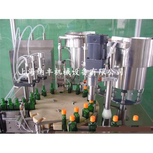 30-500ml液体灌装旋(轧)盖机