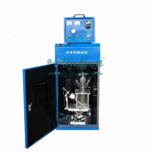 光催化双层玻璃反应釜/光催化反应仪