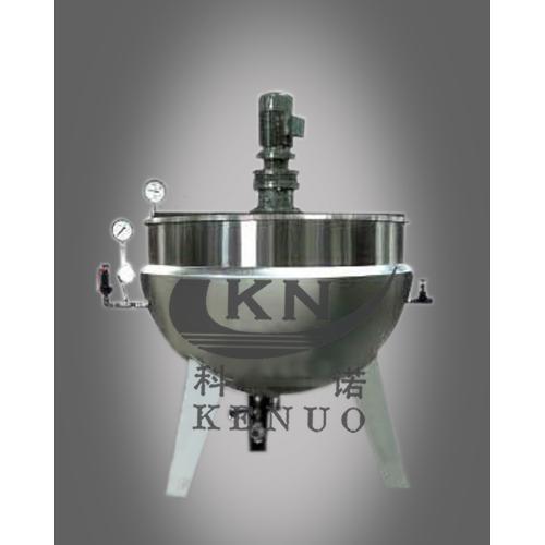 科诺夹层锅带电机搅拌机