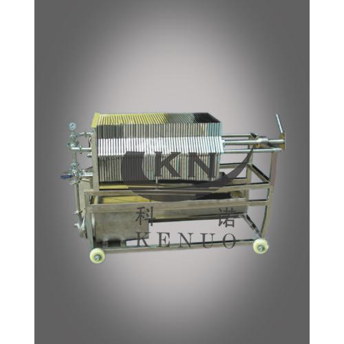 海宁科诺大流量卧式方型板框过滤器