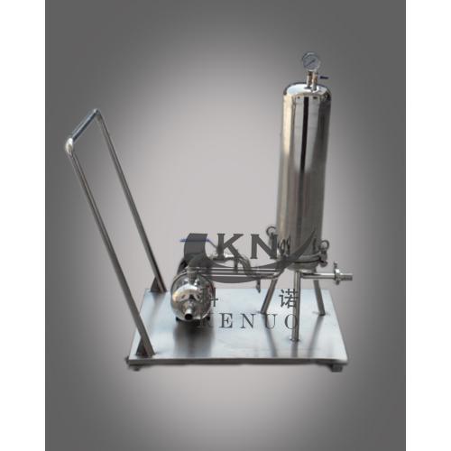 海宁科诺移动式滤芯过滤器