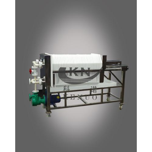 科诺耐酸碱聚丙烯板框过滤机